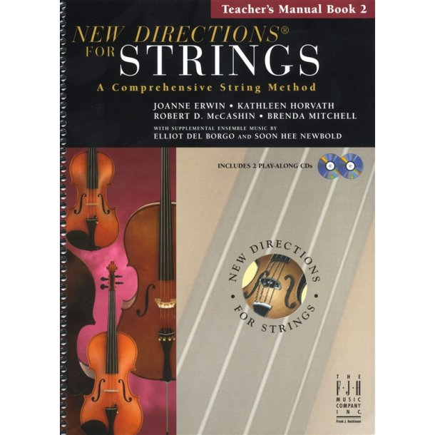 New Directions For Strings: A Comprehensive String Method - Book 2 (Teacher's Manual)
