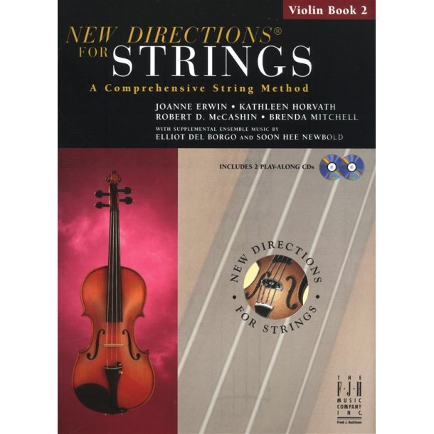New Directions For Strings: A Comprehensive String Method - Book 2 (Violin)