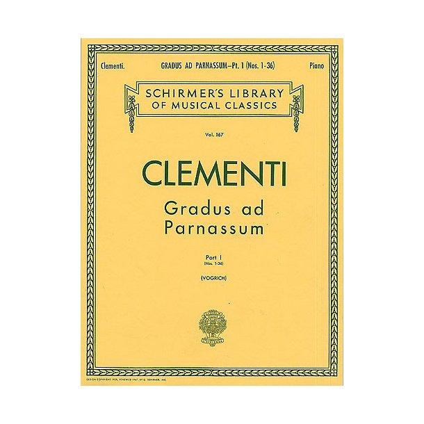 Muzio Clementi: Gradus ad Parnassum (Book 1)