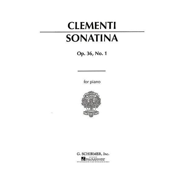 Muzio Clementi: Sonatina In C Op.36 No.1