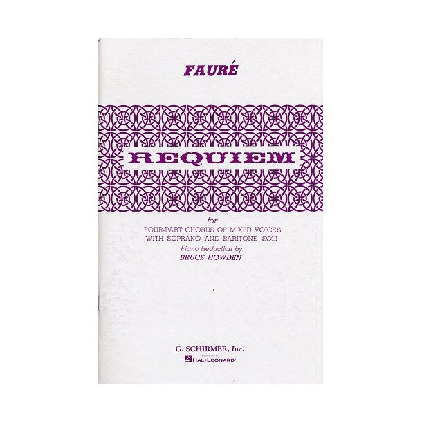 Gabriel Faure: Requiem (Vocal Score)