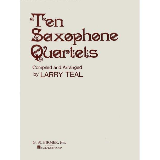 10 Saxophone Quartets