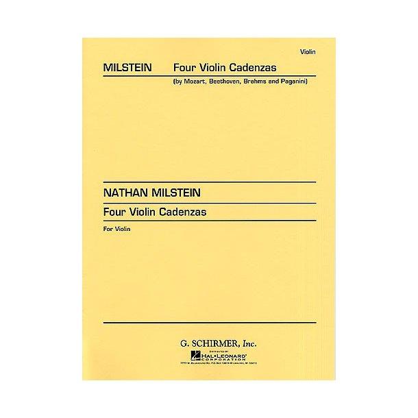 Nathan Milstein: Four Violin Cadenzas