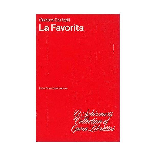 Gaetono Donizetti: La Favorita (Libretto)