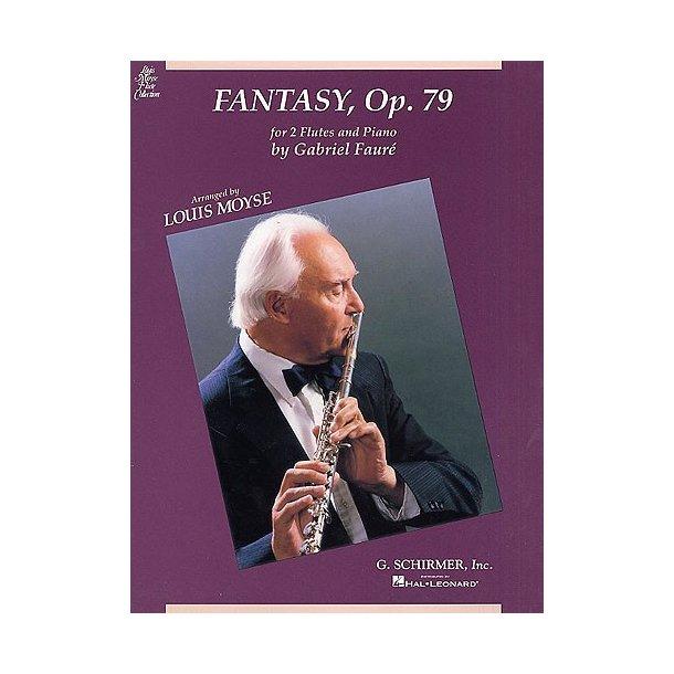 Gabriel Faure: Fantasie Op.79 (2 Flutes/Piano)