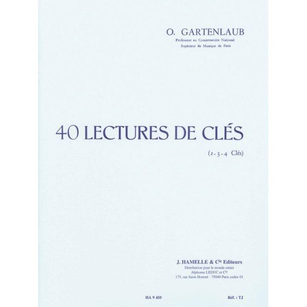 Gartenlaub 40 Lectures De Cles 2 3 Ou 4 Cles Book