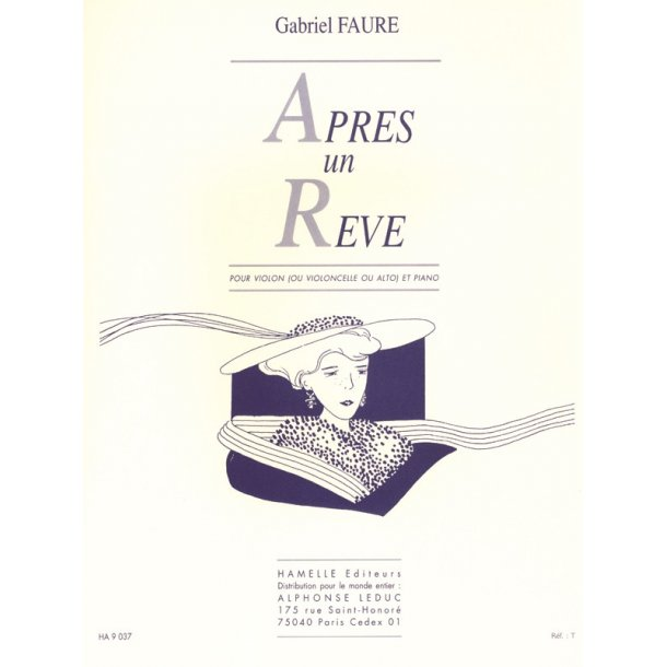 Gabriel Fauré: Après Un Reve - Violin (Or Cello/Viola)/Piano