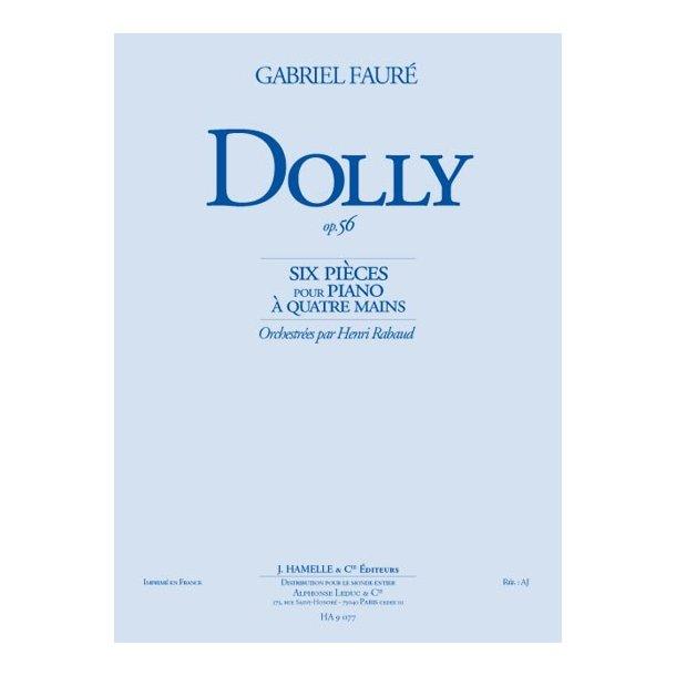 Gabriel Fauré: Dolly Suite Op.56 (Orchestra)