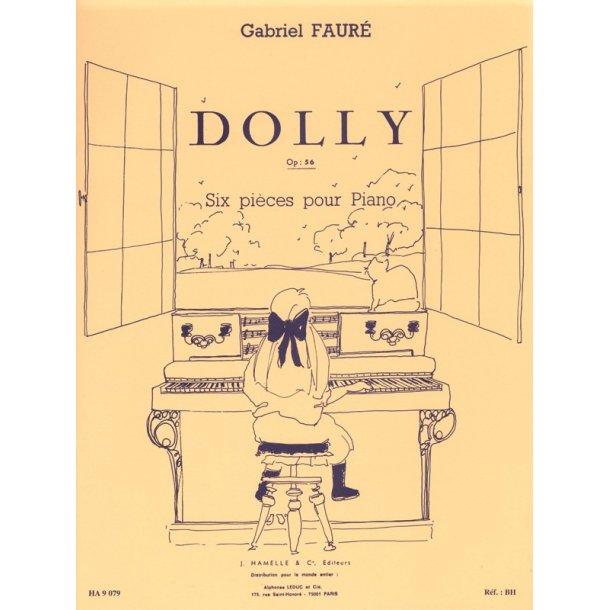 Gabriel Fauré: Dolly Suite Op.56 (Piano solo)