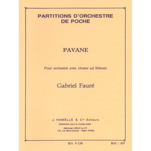 Gabriel Fauré: Pavane Op. 50 (Pocket Score)
