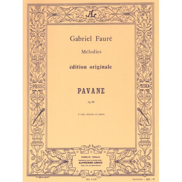 Gabriel Fauré: Pavane Op.50 (Choral-Mixed accompanied)