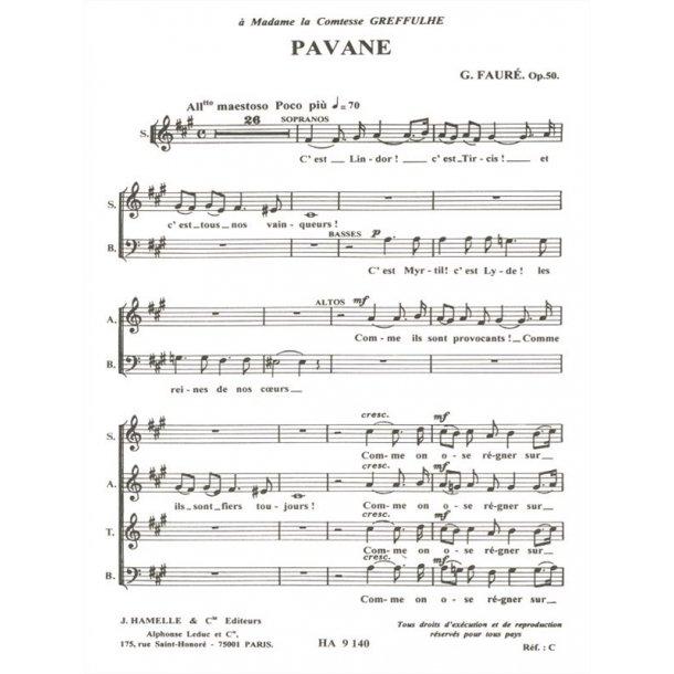 Gabriel Fauré: Pavane Op.50 (Chorus Part)