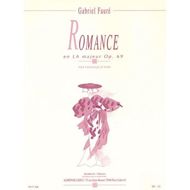 Gabriel Fauré: Romance In A Op. 69