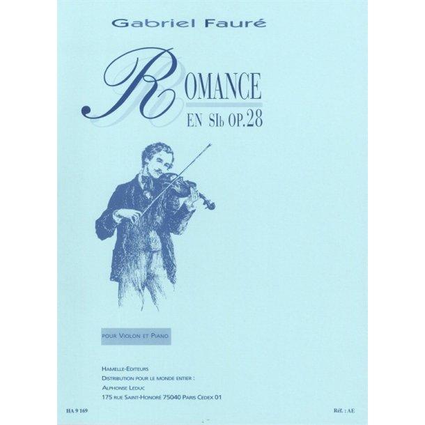 Gabriel Faure: Romance Op.28
