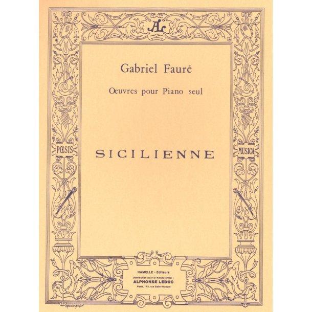 Gabriel Fauré: Sicilienne Op.78 (Piano solo)