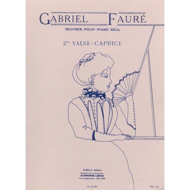 Gabriel Fauré: Valse-Caprice No.2, Op.38 (Piano solo)