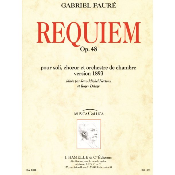 Gabriel Fauré: Requiem Op.48 (Musica Gallica) (Choral-Mixed accompanied)