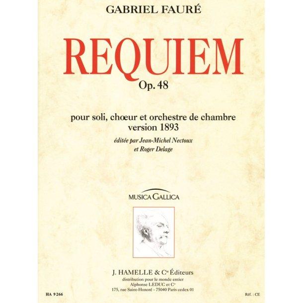 Gabriel Fauré: Requiem Op.48 (Musica Gallica) (Choral-Mixed accompanied)