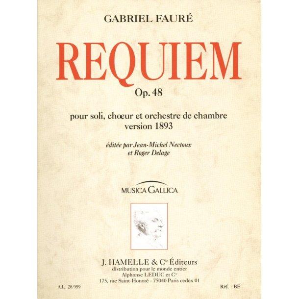 Gabriel Fauré: Requiem Op.48 (Musica Gallica)