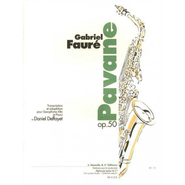 Gabriel Fauré: Pavane Op.50 (Saxophone-Alto & Piano)