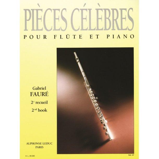 Gabriel Fauré: Pièces célèbres Vol.2 (Flute & Piano)