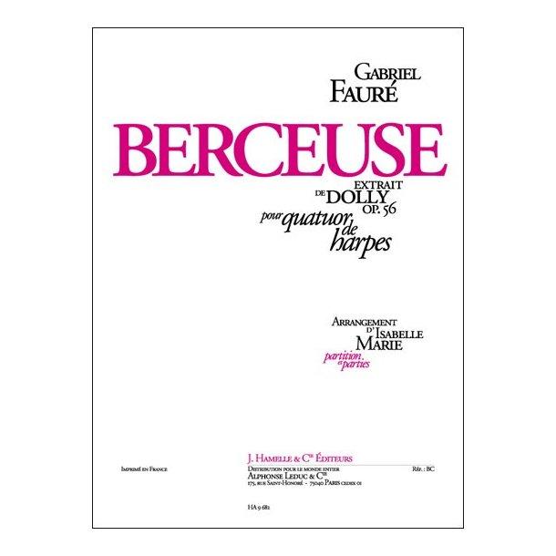 Gabriel Fauré: Berceuse Op.56, No.1 (Harps 3 or more)
