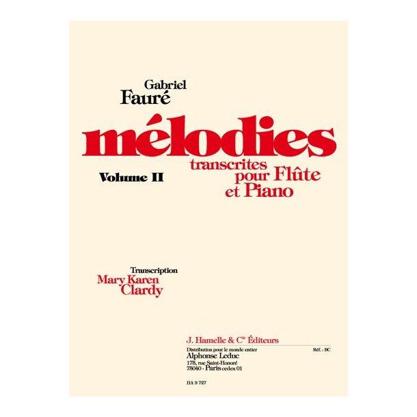 Gabriel Fauré: Mélodies Vol.2 (Flute & Piano)