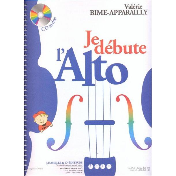 «Je débute l'alto» (avec cd)