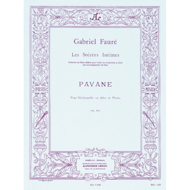 Gabriel Faure: Pavane Op.50 (Viola Or Cello)
