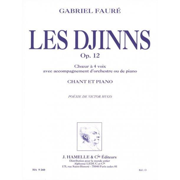 Gabriel Fauré: Les Djinns Op.12 (Choral-Mixed accompanied)