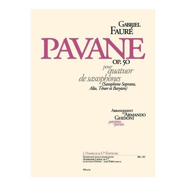 Gabriel Fauré: Pavane Op.50 (Saxophones 4)