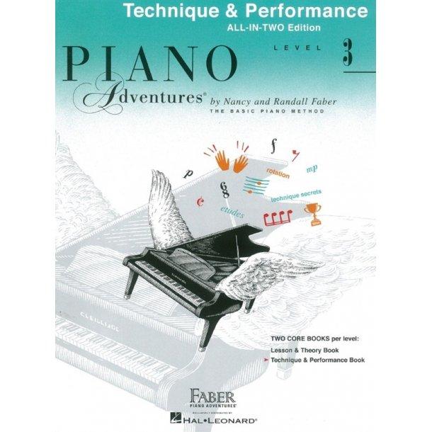 faber piano adventures level 3 technique performance. Black Bedroom Furniture Sets. Home Design Ideas