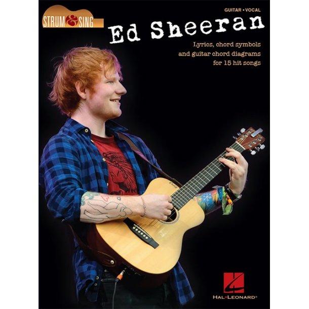 Ed Sheeran: Strum & Sing - Lyrics & Chords - Stepnote