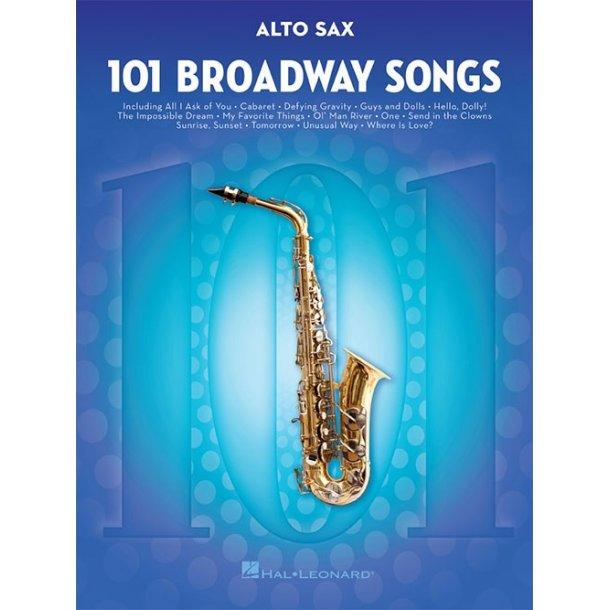 101 Broadway Songs: Alto Saxophone