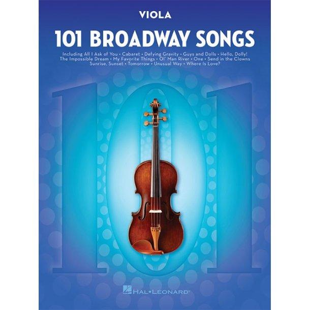 101 Broadway Songs: Viola
