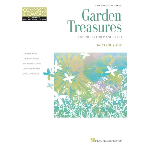 Garden Treasures: Five Pieces For Piano Solo