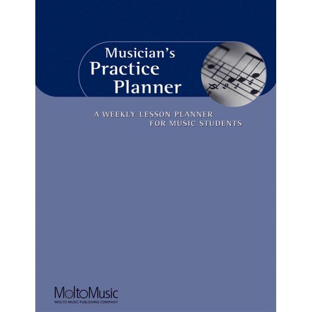 Musicians Practice Planner Wkly Lssn