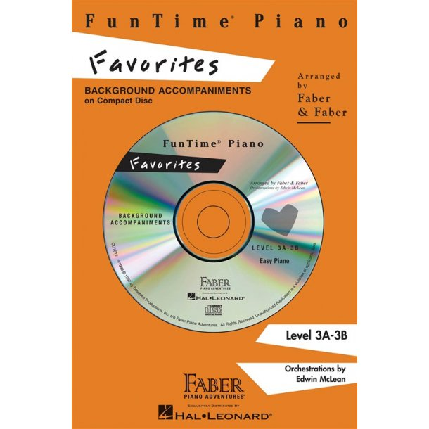 Nancy And Randall Faber: FunTime Piano Favorites CD
