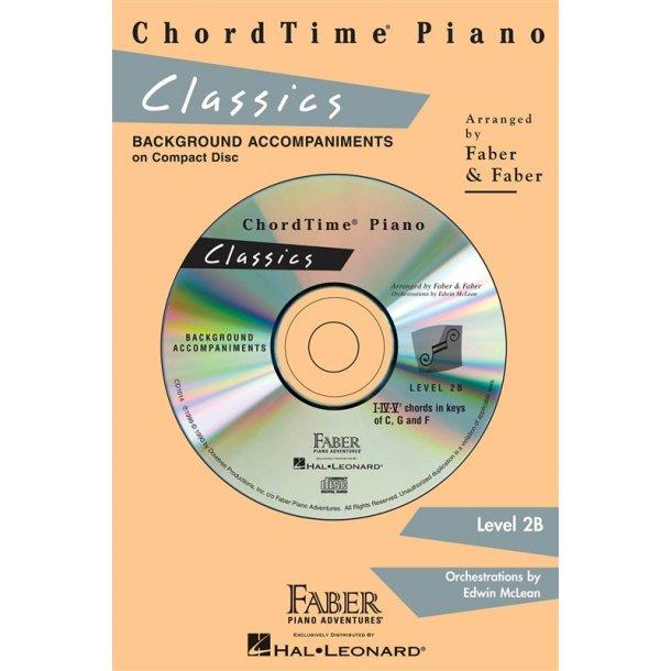 Nancy & Randall Faber: ChordTime Piano Classics CD (Level 2B)