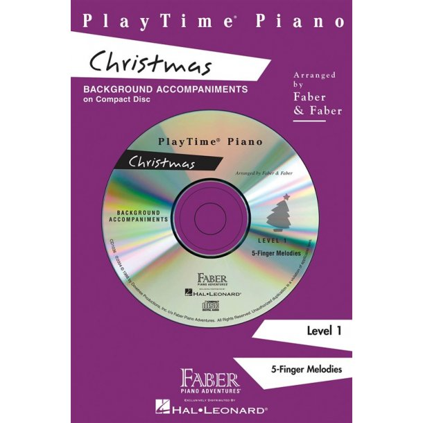 Nancy & Randall Faber: PlayTime Piano Christmas CD (Level 1)