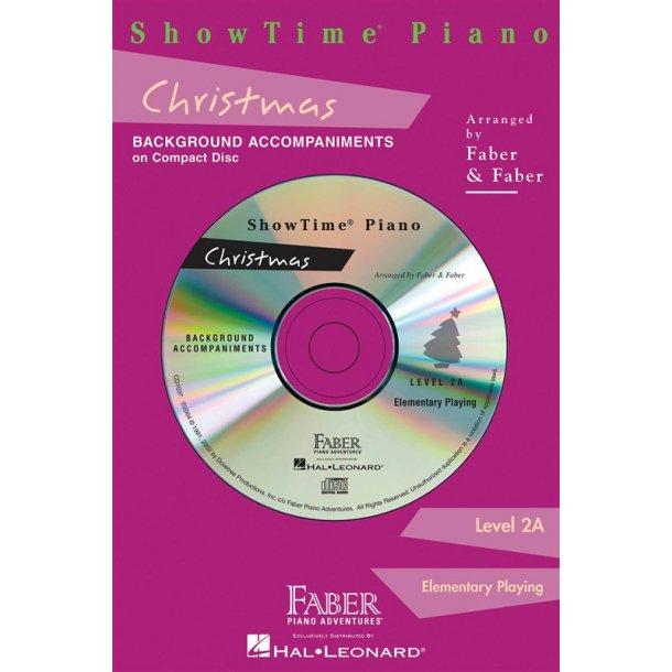 Nancy & Randall Faber: ShowTime Piano Christmas CD (2A)