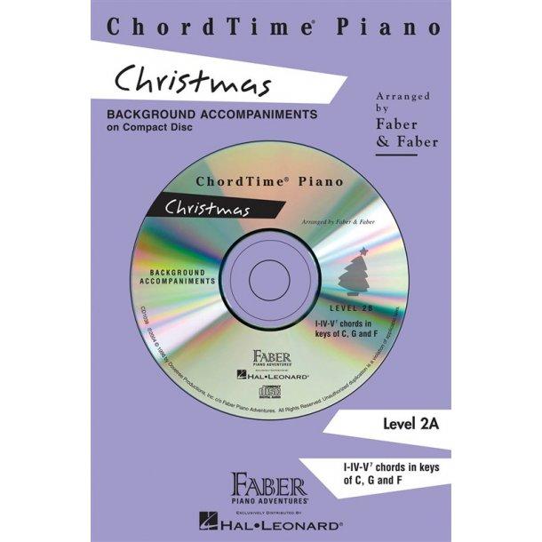 Nancy & Randall Faber: ChordTime Piano Christmas CD (2B)