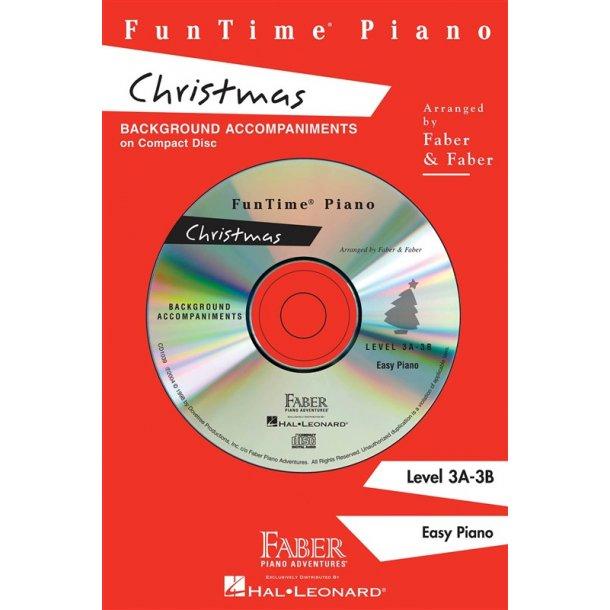 Nancy & Randall Faber: FunTime Piano Christmas CD (3A-3B)