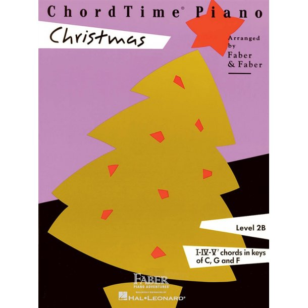 Nancy & Randall Faber: ChordTime Piano Christmas