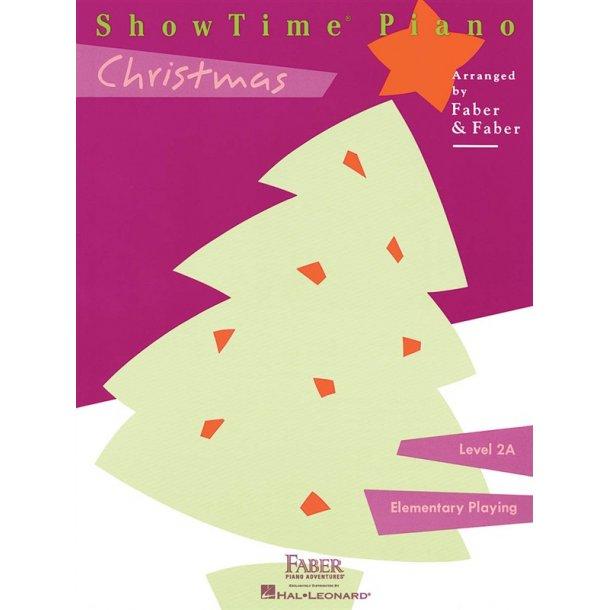 Nancy & Randall Faber: ShowTime Piano Christmas - Level 2A