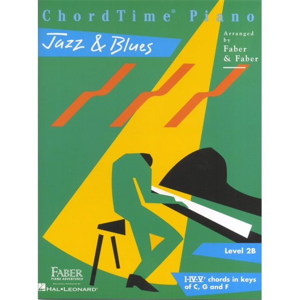 Nancy Faber/Randall Faber: ChordTime Piano - Jazz & Blues