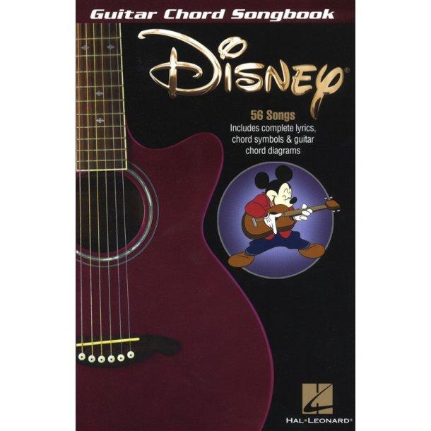Guitar Chord Songbook: Disney - Tekster & Akkorder - Stepnote