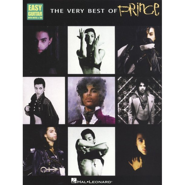 The Very Best Of Prince - Easy Guitar