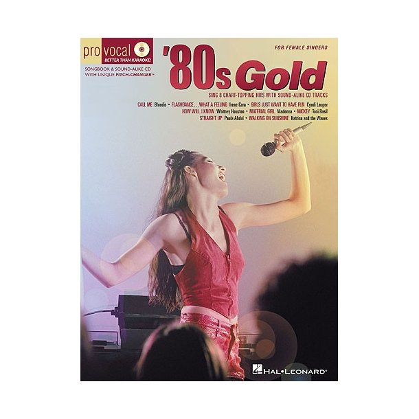 '80s Gold for Female Singers