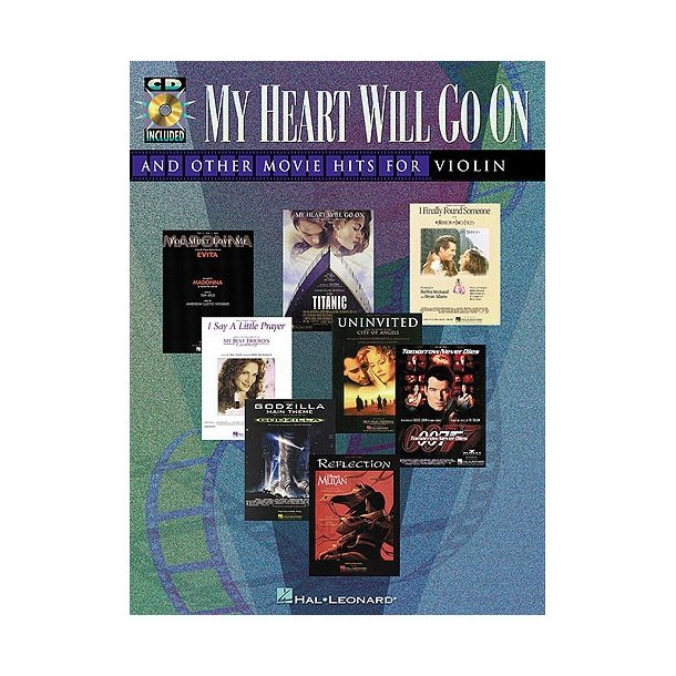 My Heart Will Go On and Other Movie Hits (Violin)